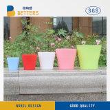 Potenciômetro de flores de plástico