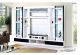 Drei Tür-Wohnzimmer hölzernes Fernsehapparatwince-Verkaufsmöbel