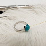 De groene Enige Ring Desings van de Steen voor Vrouwen