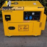 groupe électrogène électrique insonorisé silencieux d'essence de 5kVA 6kVA 7kVA 8kVA