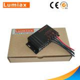 Regulador del cargador de batería solar para la batería de litio del sistema del panel solar