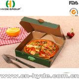 Les mets à emporter carré boîte carton imprimés Pizza personnalisé