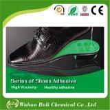 Adhésif de vente d'unité centrale de polyuréthane de fournisseur de la Chine le meilleur pour la colle d'adhésif de hauts de chaussures de chaussures
