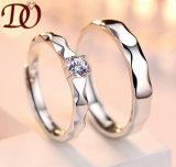 925 de echte Ring van de Zilveren bruiloft met Diamant