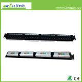 Lk5PP2402U104 UTP CAT5e 24 порт коммутационной панели (110)