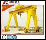 Materialtransport-doppelter Träger-Schienenportalkran