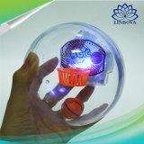 電子魔法のスポーツのライトおよび音楽音が付いている小型やしバスケットボールのシュートのゲームのおもちゃ