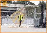 Высокое качество по борьбе с беспорядками временные оцинкованной сетки ограждения барьер