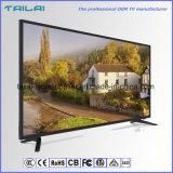 """Ultra dünne 49 """"flache Bildschirm 4K Dled neue Vorlage Fernsehapparat-3840X2160 ein Panel"""