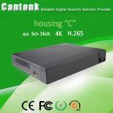 H. 265 IP het Registreertoestel NVR van het Netwerk voor IP Camera (nvr-4CH)