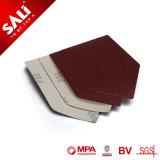 Novo Material 230g de óxido de alumínio de madeira do Disco de lixa de polimento de metais