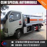 camion del serbatoio dell'olio 8cbm, camion di rifornimento di carburante dalla Cina per la vendita calda