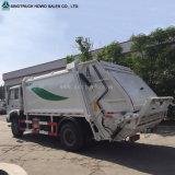 6 짐수레꾼 8cbm는 판매를 위해 자주 패물 쓰레기 압축 분쇄기를 사용했다