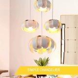 Decken-dekoratives Blumen-Knospe-Form-Eisen-Anhänger-Licht