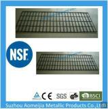 Aomeijia Revestimiento en polvo negro la pantalla de metal de fácil montaje Panel Gridwall rejilla de alambre