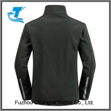 Les hommes de plein air veste Softshell Front-Zip Windproof