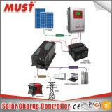 60A 12/24V/48V自動情報処理機能をもったLCDの太陽電池パネルの料金のコントローラ