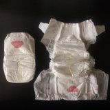 Private Label plaine blanc tout simplement des couches pour bébé avec une haute qualité