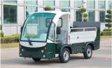 Carro de basura abierto de 6 compartimientos completamente