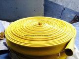 Boyau en caoutchouc de matériel de lutte contre l'incendie de Layflat, boyau en caoutchouc durable de Layflat
