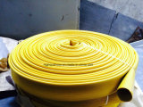Equipamento de combate a incêndio Layflat borracha, mangueira de borracha Layflat Borracha durável
