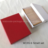 Handmade 높은 광택 있는 색칠 나무로 되는 보석함 또는 선물 반지 상자