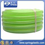 Boyau à haute pression durable bon marché de l'eau, boyau de jardin flexible de PVC
