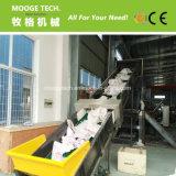 De transportband van de riem voor afvalplastiek