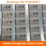 Anti-Fälschung heißer gestempelter Hologramm-Aufkleber