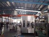 Máquina de rellenar del jugo automático de la botella de cristal (tipo 3in1)