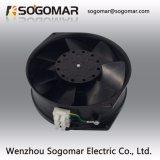(SFM15755) 172x150x55mm Plata/Negro las hojas de metal para la refrigeración Ventilador Axial de CA