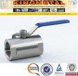 Edelstahl Wasser-Kugelventil-Preis 5/6 Zoll-2PC