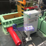 Empurre a Máquina de enfardamento de aparas de aço Automática (fábrica)