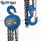 Type 1ton de Hsc élévateur à chaînes de bloc à chaînes de 6 mètres