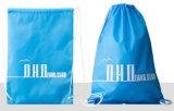 210d Polyester promocionales Cordón Mochila personalizada