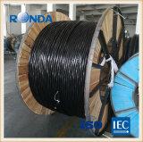 50 sqmm câble électrique en aluminium 0,6 KV câble en aluminium Shanghai