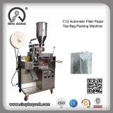 Papier filtre automatique de gros sachet de thé Machine d'emballage d'étanchéité