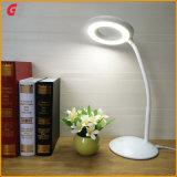 Lámpara de mesa mesa LED LED LED de iluminación creativo de la luz de la tabla Tabla cama Lámpara LED lámpara de escritorio mesa de luces LED recargable