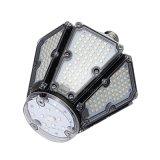 피라미드 모양 디자인 50W 360 도 광속 각 LED 포스트 톱 라이트 전구