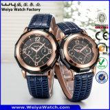 ODM de Klassieke Polshorloges van de Paren van de Manier van het Horloge van het Kwarts (wy-072GD)