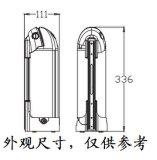 pacchetto elettrico della batteria della bicicletta dello Li-ione di 24V 8.8ah giù Dube