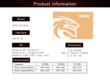 3D de alta velocidade de 1 TB Kingspec SSD MLC 2.5''Sata3.0 6GB/s unidades de disco rígido de estado sólido interno para o PC Industrial, POS Máquina, Mini-PC
