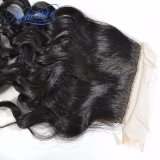 실크 기본적인 마감에 의하여 표백되는 매듭 중국 자연적인 파 인간적인 Virgin 머리