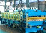 Profil de la feuille de toiture en acier ondulé machine à profiler