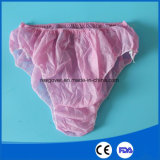 Pp.-nichtgewebte Wegwerfunterwäsche für Frauen