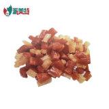 Natürliche trockene Nahrung- für Haustierekristalleffekt-Huhn-und Ente-Wurst-Stücke