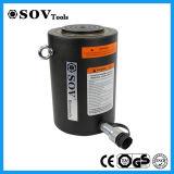 Retorno de la carga de acción simple cilindro hidráulico de 500 Ton.