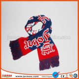 шарф Acrylic зимы жаккарда футбола 16X145cm