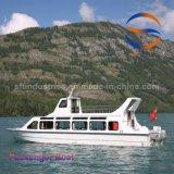 carrocería del barco del taxi FRP del agua del barco de pasajero 40p del 14.28m