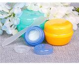 Pequeño Tarro cosmético, Material Plástico el frasco pequeño